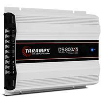 Módulo Amplificador Taramps DS 800X4 800W RMS 4 Canais 2 Ohms Classe D -