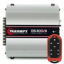 Módulo Amplificador Taramps Ds 800x4 + Controle De Longa Distância Tlc-3000 -