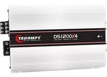 Módulo Amplificador Taramps Ds1200 X4 Canais Rca Ds-1200 Rms -