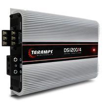 Módulo Amplificador Taramps DS1200x4 1200W RMS 4 Canais 2 Ohms RCA Classe D -