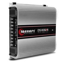 Módulo Amplificador Taramps DS800x4 800W RMS 2 Ohms 4 Canais Digital Classe D -