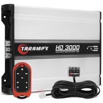 Módulo Amplificador Taramps Hd 3000 3000w Rms + Controle Tlc-3000 -