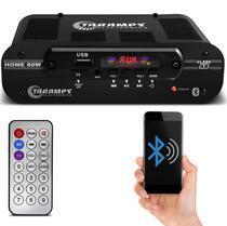 Módulo Amplificador Taramps Home 80 80W RMS 4 Canais 4 Ohms Stereo Classe AB -