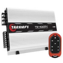 Módulo Amplificador Taramps Ts 400X4 4 Canais 400 W Rms 2 Ohms + Controle Tic 3000 -