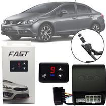 Módulo de Aceleração Sprint Booster Tury Plug and Play Honda Civic 2012 13 14 15 16 FAST 1.0 U -