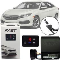 Módulo de Aceleração Sprint Booster Tury Plug and Play Honda Civic 2017 18 19 FAST 1.0 E -