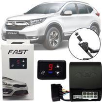 Módulo de Aceleração Sprint Booster Tury Plug and Play Honda Cr-v Crv 2012 13 14 15 16 17 18 19 FAST 1.0 E -