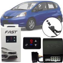 Módulo de Aceleração Sprint Booster Tury Plug and Play Honda Fit 2009 10 11 12 13 14 FAST 1.0 U -