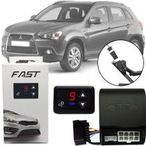 Módulo de Aceleração Sprint Booster Tury Plug and Play Mitsubishi Asx 2010 11 12 13 14 15 16 17 FAST 1.0 V -