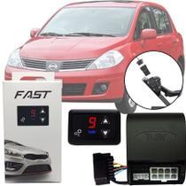 Módulo de Aceleração Sprint Booster Tury Plug and Play Nissan Tiida 2008 09 10 11 12 13 14 FAST 1.0 C -