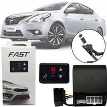 Módulo de Aceleração Sprint Booster Tury Plug and Play Nissan Versa 2011 12 13 14 15 16 17 18 19 20 FAST 1.0 C -