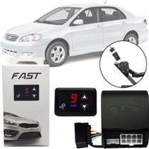 Módulo de Aceleração Sprint Booster Tury Plug and Play Toyota Corolla 2003 04 05 06 07 08 FAST 1.0 Y -