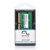 Módulo De Memória Multilaser Sodimm Ddr3 4gb 12800 - Mm420 -