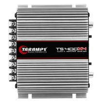 Módulo De Potência Taramps TS-400x4 Digital 2R 400W RMS 4 Canais Full Range 13.8V -
