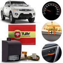 Módulo de Trava Elétrica Automático Speed Lock Mitsubishi Pajero L200 Lancer Tury AC03 -