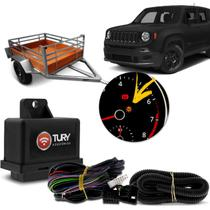 Módulo Elétrico Engate Reboque Jeep Renegade 2016 2017 2018 2019 Plug And Play Tury Connect 1.2 BL -