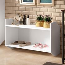 Módulo Estante Nicho Soul 1001 - Branco - Be mobiliário