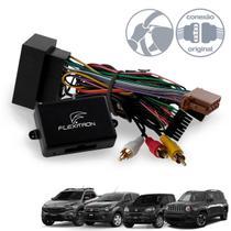 Módulo Interface de Volante Fiat Toro Uno Mobi Jeep Renegade - Flexitron