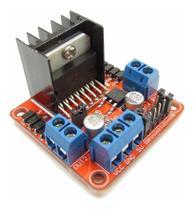 Modulo Ponte H L298n 2 Canais De 2a Dc Arduino - Mj
