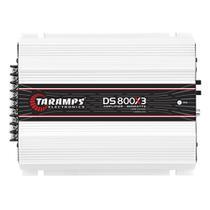 Módulo Potência Taramps DS-800x3 800Wrms 3 Canais 2 Ohms -