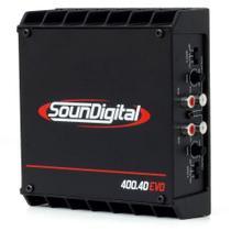 Modulo Soundigital Sd 400 X 4 400w Rms Amplificador Digital -