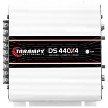 Módulo Stereo DS440x4 440w 4 x 110w RMS com Cabo RCA 5m e Cabos Y 2M 1F - Taramps