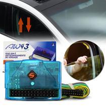Módulo Subida e Descida de Vidro Elétrico 4 Portas Universal Antiesmagamento Soft AW43 AA.30.0021 -