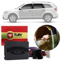 Módulo Vidro Elétrico Dodge Journey 08 a 19 4 Portas Antiesmagamento Plug And Play Tury PRO 4.28 DG -