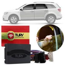 Módulo Vidro Elétrico Fiat Freemont 12 a 15 4 Portas Antiesmagamento Tury Pro 4.28 DG Plug and Play -
