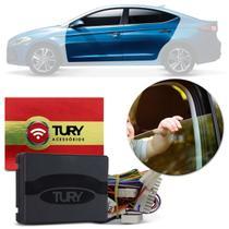 Módulo Vidro Elétrico Hyundai Elantra 17 a 19 4 Portas Antiesmagamento Plug & Play Tury PRO 4.54 DX -