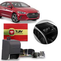 Módulo Vidro Elétrico Hyundai Elantra 2017 a 2019 4 Portas Antiesmagamento Plug & Play Tury LVX 5 AC -