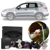 Módulo Vidro Elétrico Subaru Forester 17 a 19 4 Portas Antiesmagamento Plug And Play Tury PRO 4.68EL -