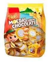 Moeda de Chocolate Bel Pacote C/ 125 Un 500g -