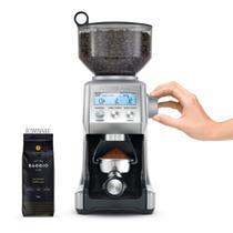 Moedor de café e grãos elétrico tramontina breville inox -