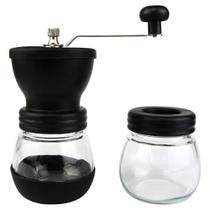 Moedor Manual Para Grãos de Café Em Vidro Níveis De Moagem - Clink