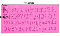 Molde de silicone alfabeto - Molds Planet