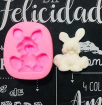 Molde de silicone coelho para decorar f276 - Cm