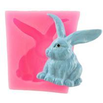Molde de silicone coelho para decorar f333 - Cm