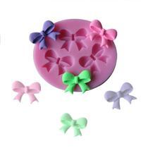 Molde de silicone laçinho para decorar f70 - Confeitaria Dos Moldes
