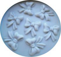 Molde De Silicone Laçinhos 7 Para Confeitaria E Biscuit - Leb Decorações
