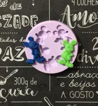 Molde de silicone mickey para decorar f474 - Cm