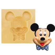 Molde de Silicone para Biscuit Casa da Arte - Modelo: Mickey 242 -