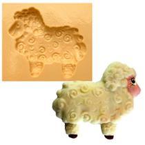 Molde de Silicone para Biscuit Casa da Arte - Modelo: Ovelha Grande 835 -