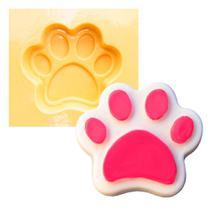 Molde de Silicone para Biscuit Casa da Arte - Modelo: Pata ou pegada - 1319 -
