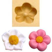 Molde de Silicone para Biscuit Casa da Arte - Modelo: Violeta Pequena 856 -
