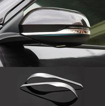 Moldura Aplique Braço Espelho Retrovisor Cromado Honda HRV -