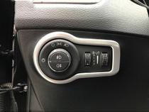 Moldura Aplique Interruptor Botão Farol Prata Jeep Compass -