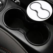 Moldura Aplique Porta Copos Preto Piano Jeep Compass -
