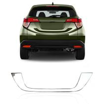 Moldura Aplique Porta Malas Honda Hrv 2015 a 2020 Cromado - Prime