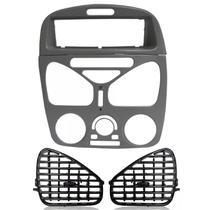 Moldura Central Com Ar Moldura Rádio Difusor Palio G2 Siena - Autoplast